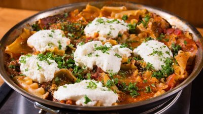 Budget Bites: Spinach Lasagna Skillet