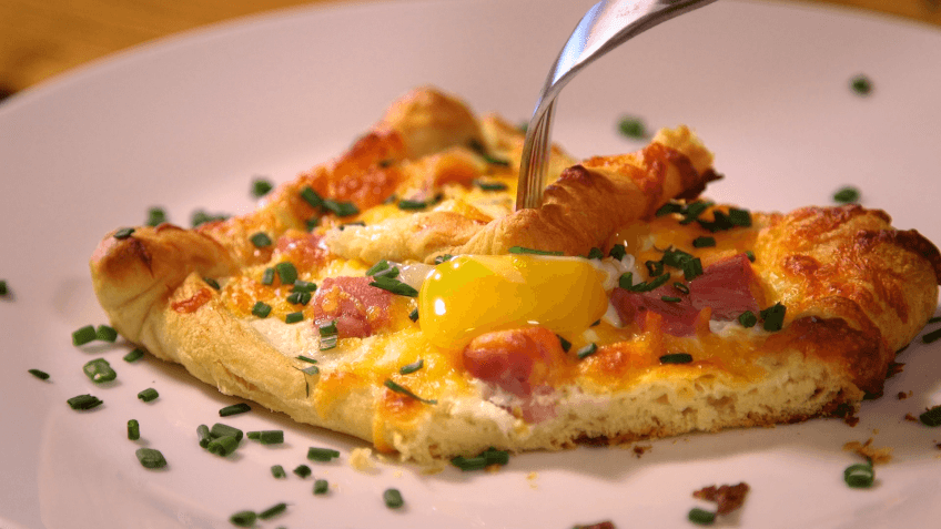 Upgrade Your Morning With Ham, Egg and Cheese Crescent Squares