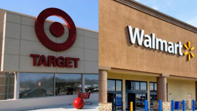 Groceries at Target vs. Walmart
