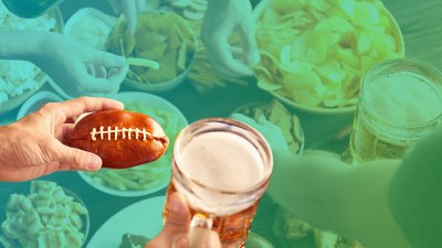 How Much Americans Will Eat Super Bowl Sunday