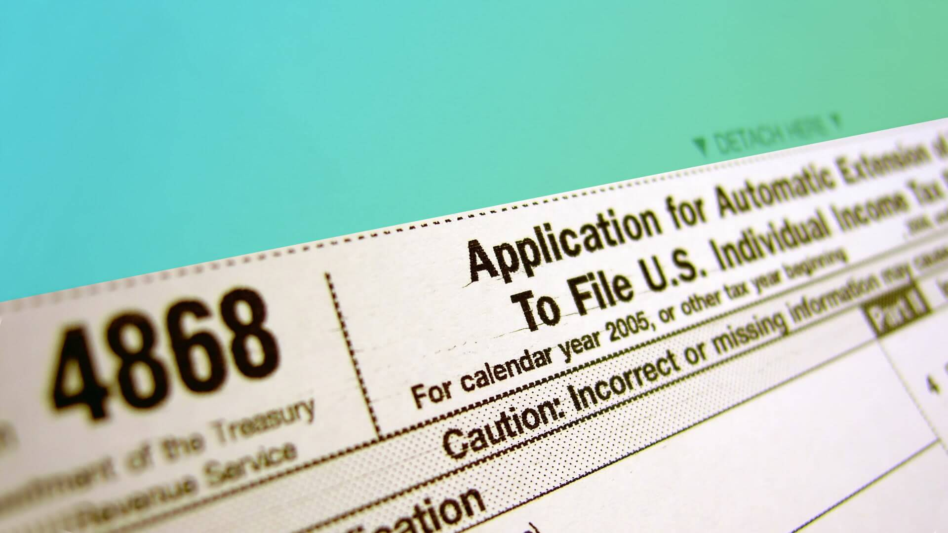 How to file a tax extension with the irs gobankingrates falaconquin