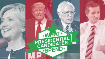 How Your Favorite Presidential Candidates Spend Their Money