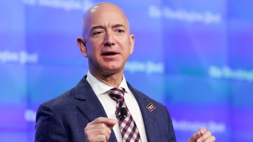 Jeff Bezos' Updated Net Worth Helps Him Retain Status as Richest Man Alive