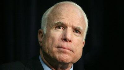 John McCain Backs Senate Tax Bill