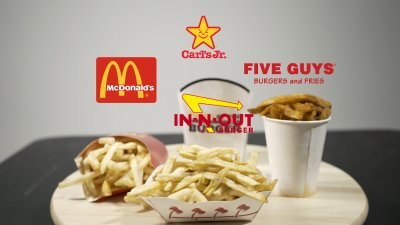 Popular Fast Food French Fries Put to the Test