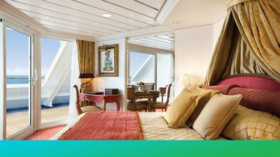 The Most Insanely Luxurious Cruise Ship Cabins