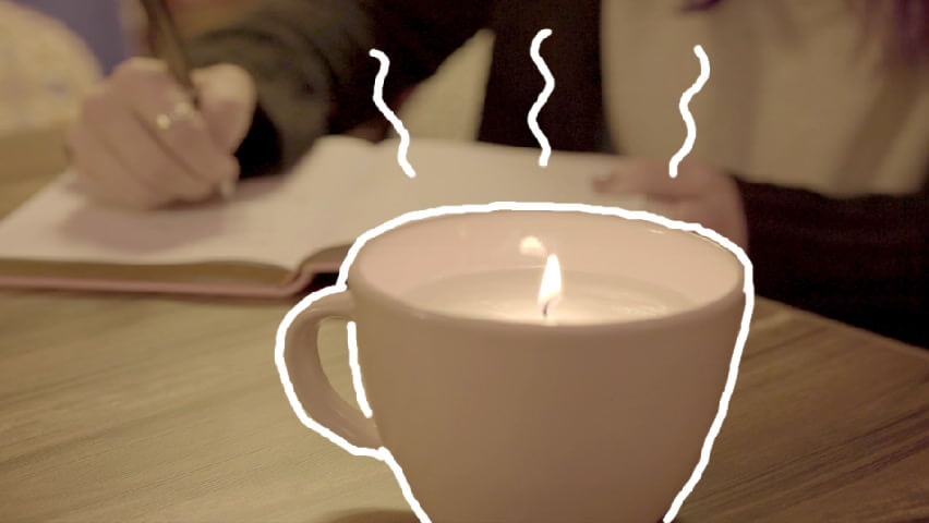 this diy teacup candle costs half the retail price gobankingrates