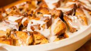 Upgrade Your Morning With This Cinnamon Raisin Breakfast Bake