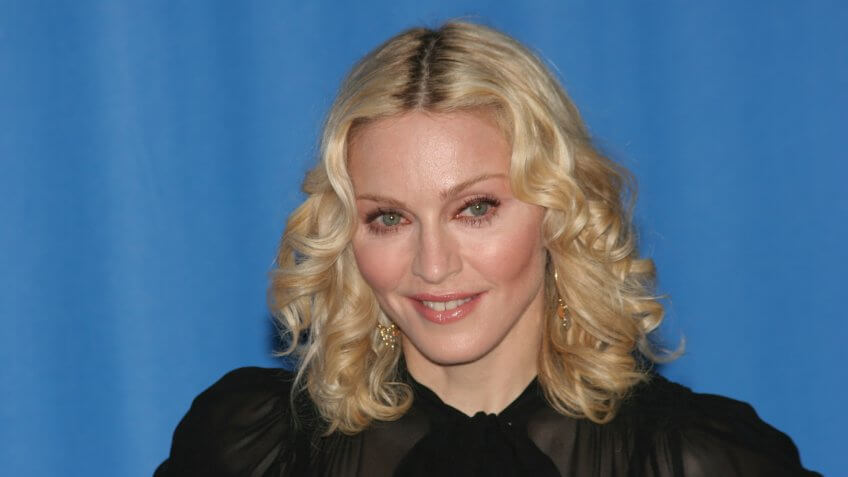 BERLIN - FEBRUARY 13: Madonna attends the 'Filth and Wisdom' photocall as part of the 58th Berlinale Film Festival at the Grand Hyatt Hotel on February 13, 2008 in Berlin, Germany.