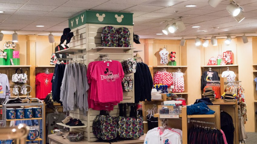 Gift shop at Paradise Pier Hotel.