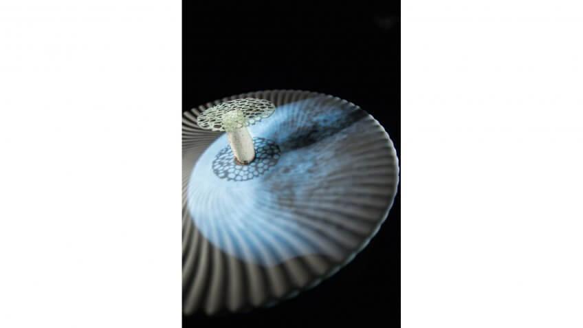 Lunar Mushroom, Ultraviolet