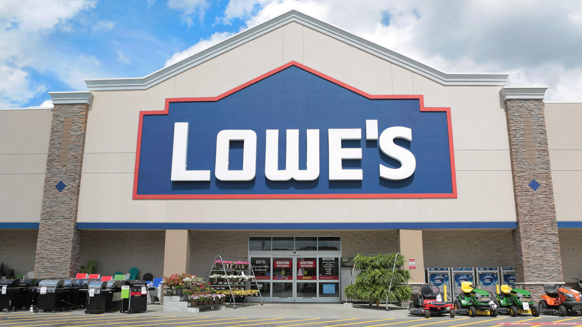 How hard is it to get a lowes or home depot credit card