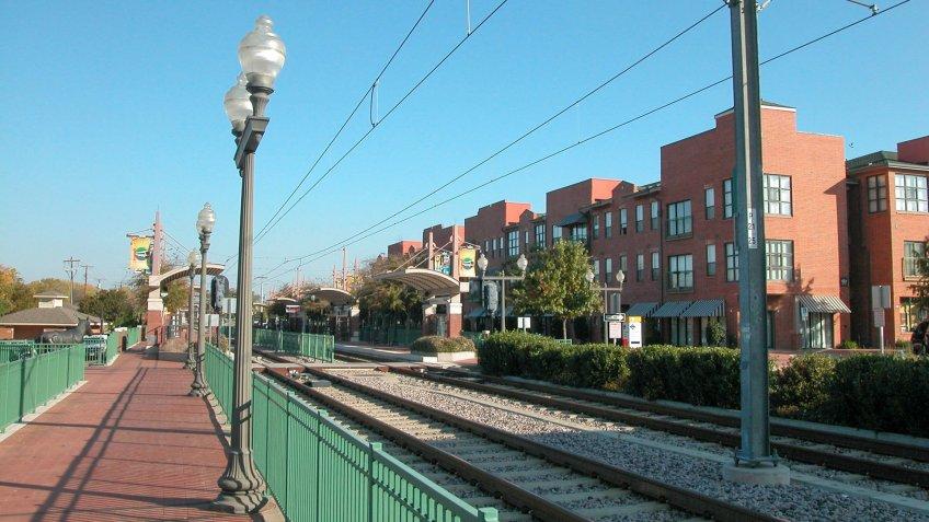 DART Light Rail, Plano, TX.