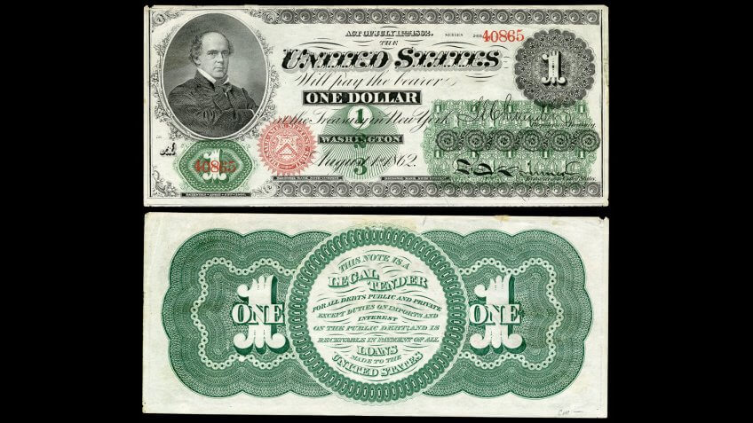 United-States-of-America-1862-1-Dollar-Bil