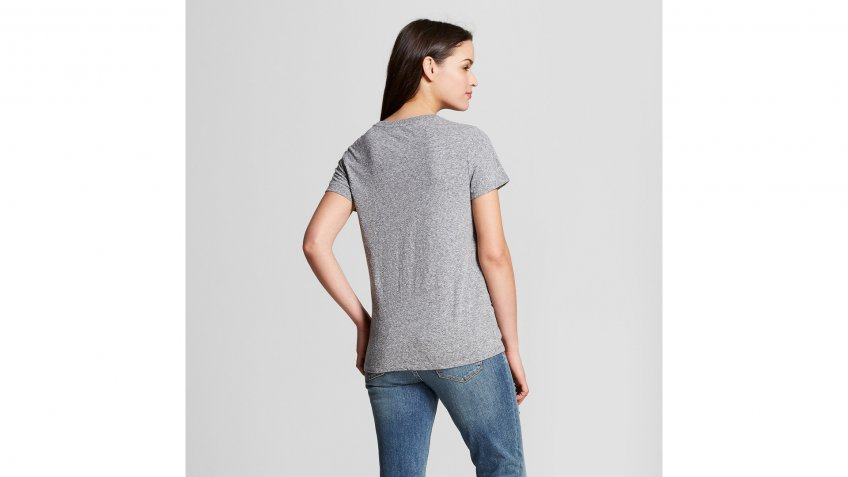 Womens-Crew-Neck-T-Shirt