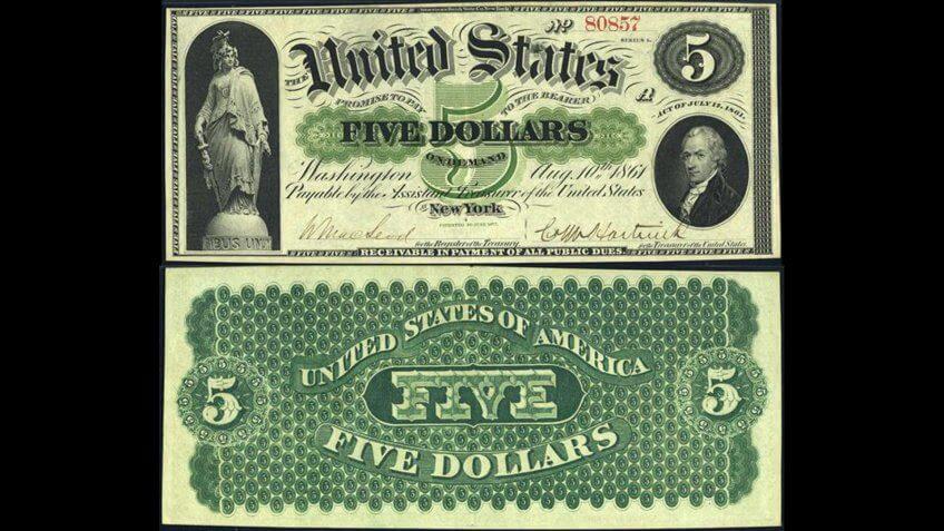United-States-of-America-Five-Dollar-Bill