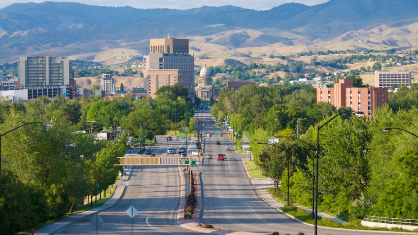 Boise, Idaho, city, downtown