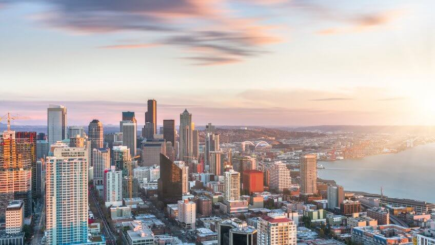 Seattle skyline, WA, USA