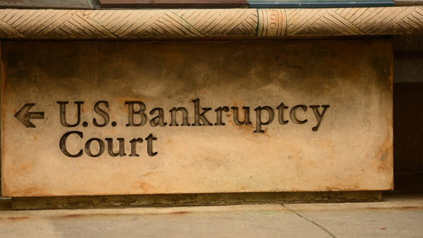 bankruptcy.