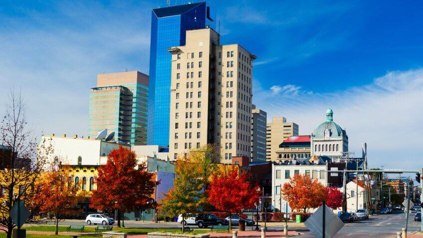 Downtown Lexington Skyline.