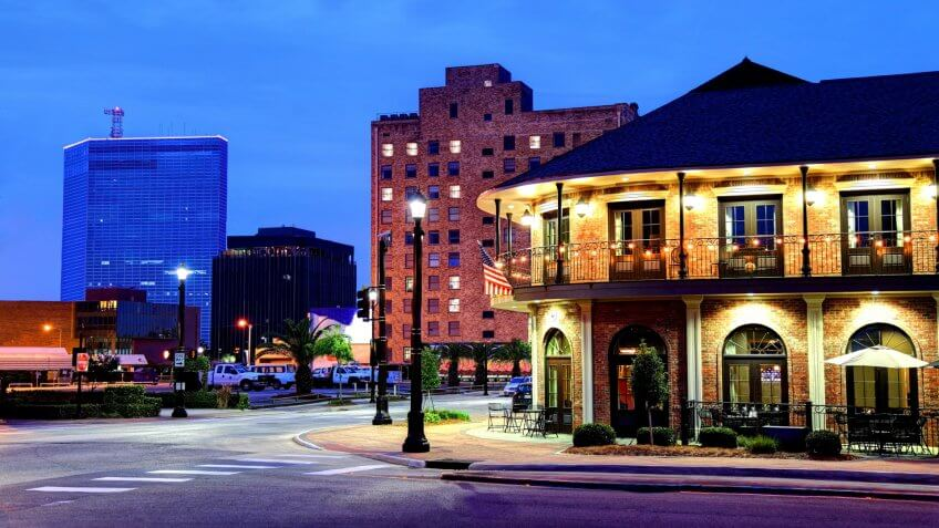 Lake Charles the fifth-largest incorporated city in the U.
