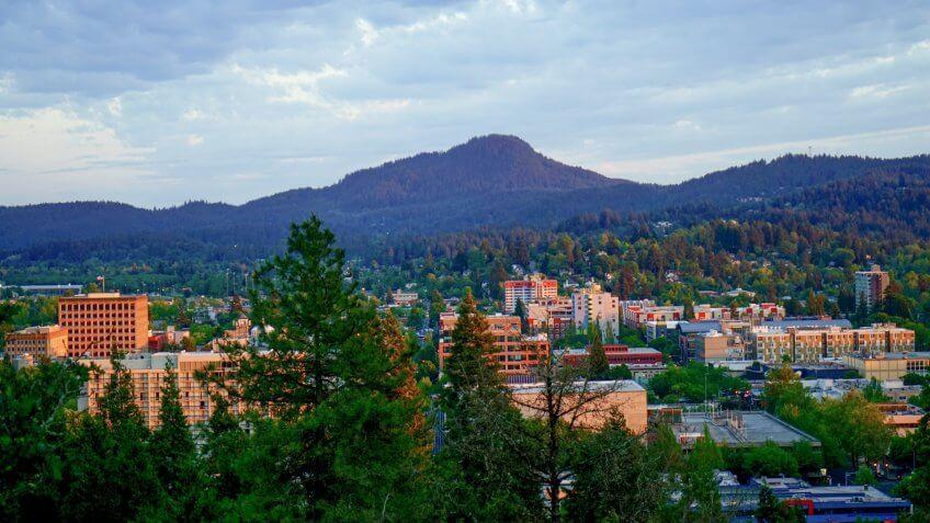Western Oregon's Willamette Valley.