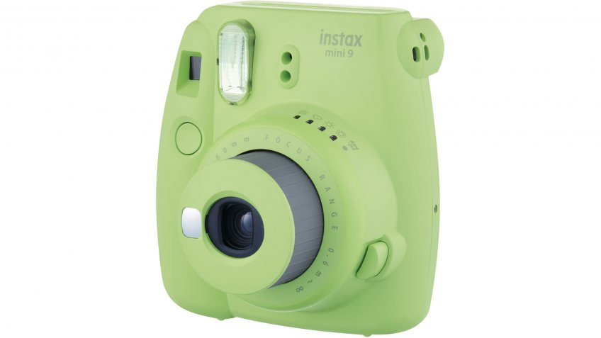 Fujifilm-Instax-Mini-9-Lime-Green-Camera