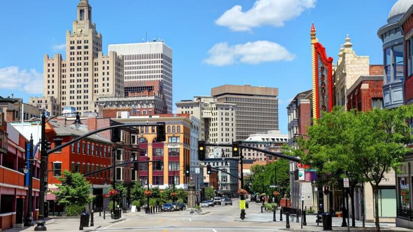 Providence is the capital and most populous city in Rhode Island.