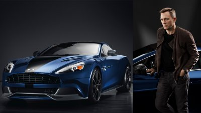 Daniel Craig's Aston Martin Is Up For Auction And I