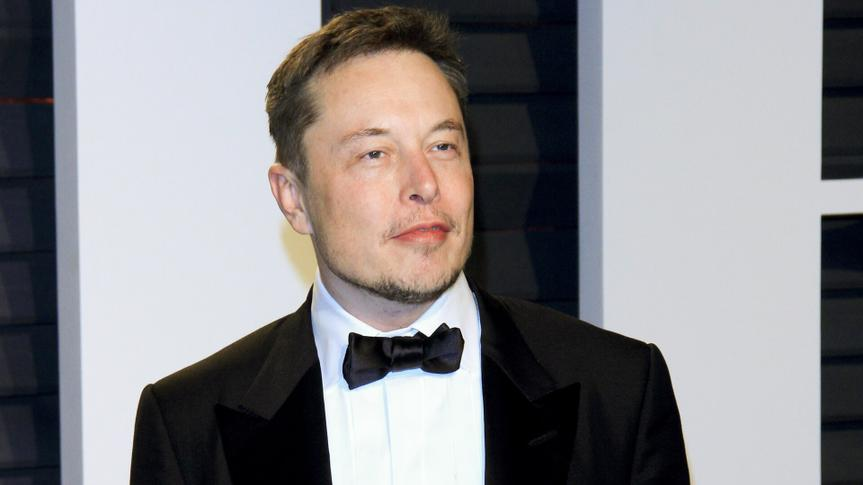 Elon Musk at the 2017 Vanity Fair Oscar Party at the Wallis Annenberg Center on February 26, 2017 in Beverly Hills, CA.