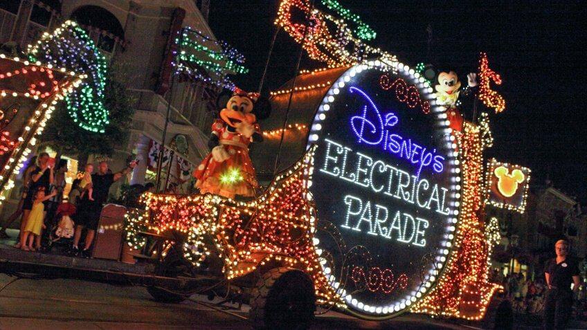 Disney's Electrical Parade at Walt Disney World