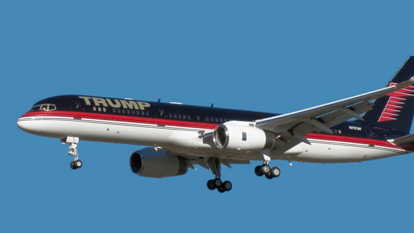Outfitting His Boeing 757-200