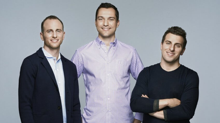 Joe Gebbia Nathan Blecharczyk Brian Chesky AirBnB