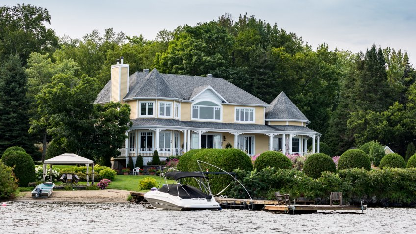 house on the water