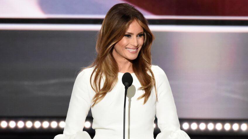 Melania Trump attends Republican National Convention