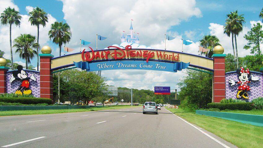 Entrance to Walt Disney World