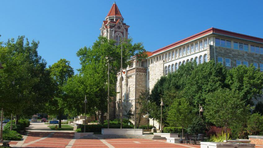 """Dyche Hall Museum of Natural History, University of Kansas, Lawrence, Kansas."