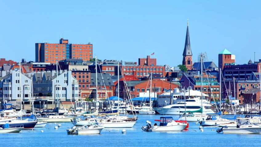 Portland is the largest city in the state of Maine located on a penninsula extended into the scenic Casco Bay.