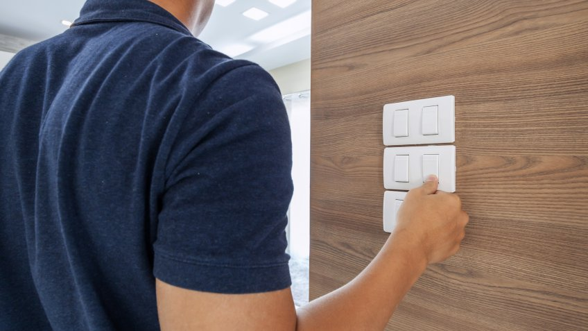 Turning on off light switches