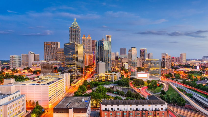 11674, Atlanta, Georgia, How Long $1 Million Will Last in Retirement in Every State, States, USA, United States of America, america, horizonta