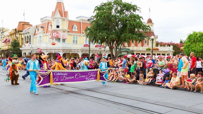 Parade at Walt Disney World