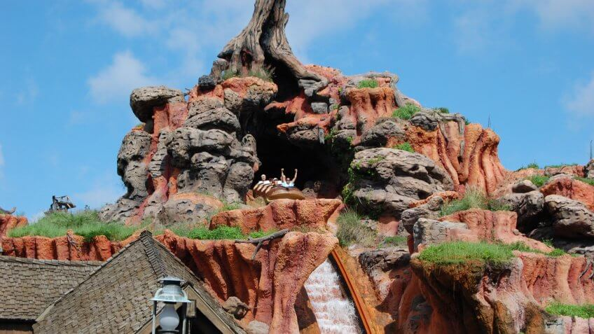 Splash Mountain at Walt Disney World