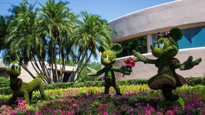 Flower and Garden Festival at Walt Disney World