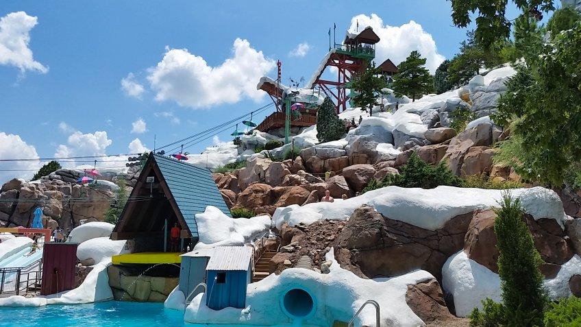 Blizzard Beach Water Park at Walt Disney World