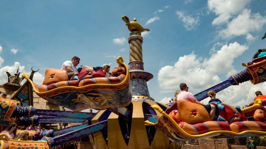 Magic Carpets of Aladdin attraction at Walt Disney World
