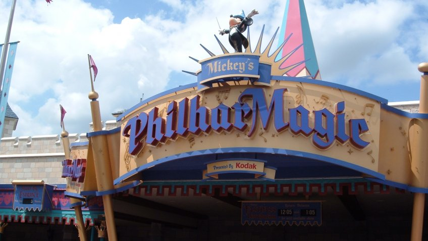 PhilharMagic attraction at Walt Disney World