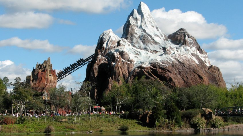 Expedition Everest — Legend of the Forbidden Mountain is a steel roller coaster built by Vekoma at Disney's Animal Kingdom theme park at the Walt Disney World theme park