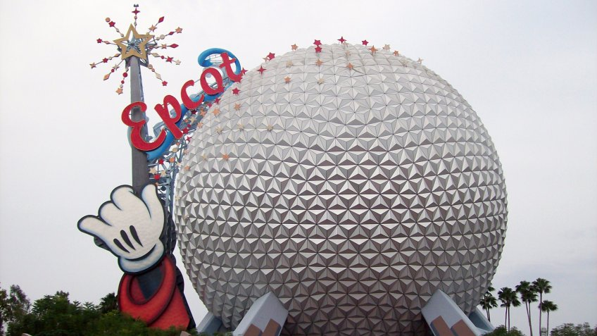 25th anniversary at the Epcot Center in Walt Disney World