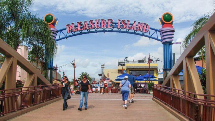Pleasure Island at Walt Disney World