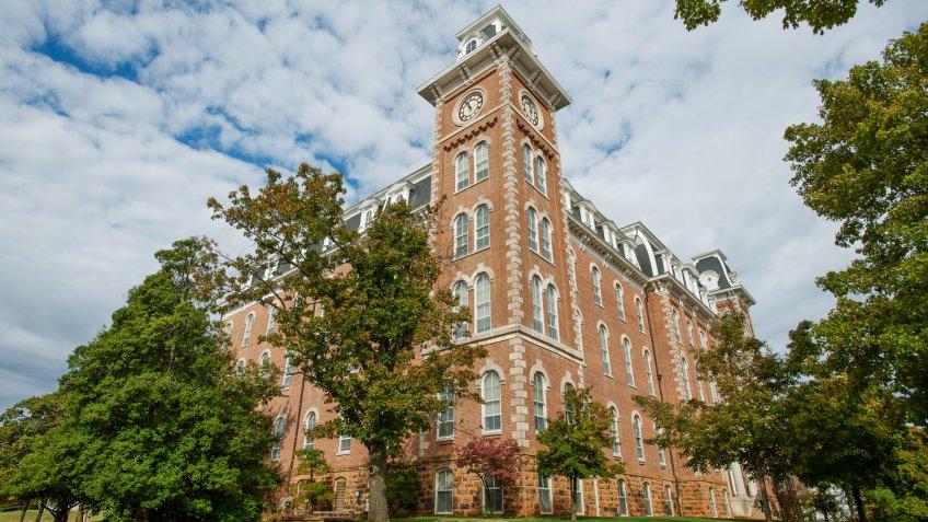 University of Arkansas campus